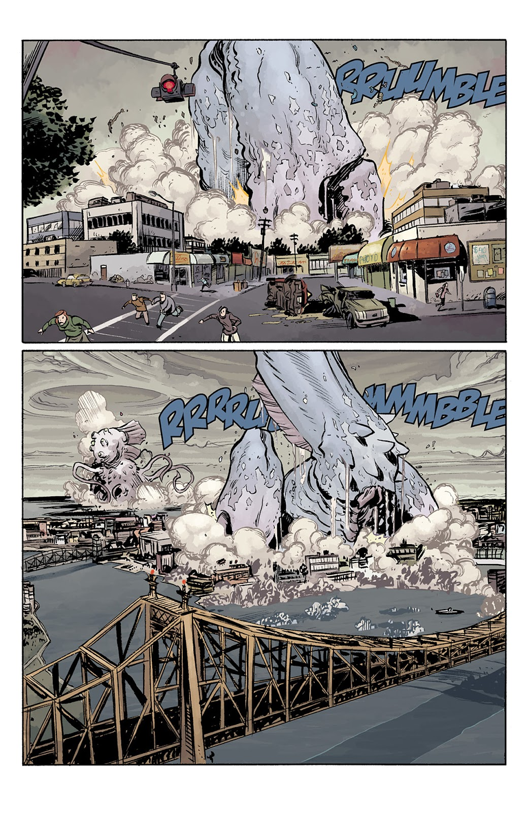 Read online B.P.R.D. Hell on Earth: The Return of the Master comic -  Issue #5 - 6