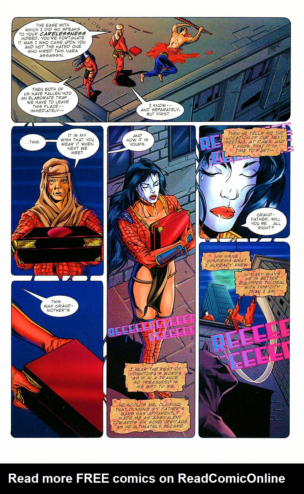 Read online Shi: The Way of the Warrior comic -  Issue #8 - 4