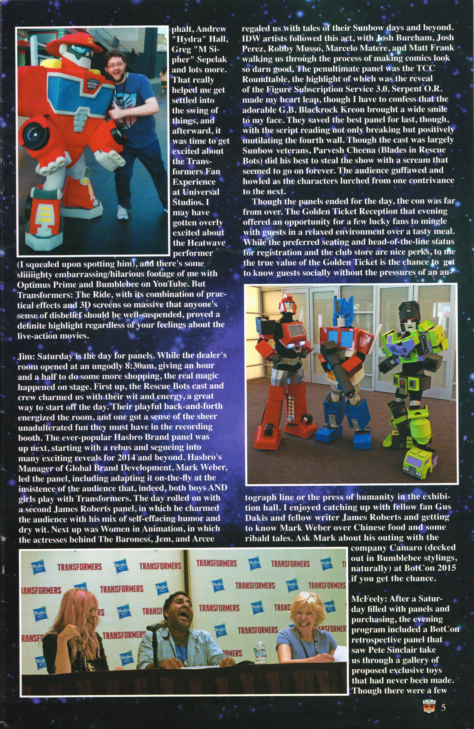 Read online Transformers: Collectors' Club comic -  Issue #58 - 5