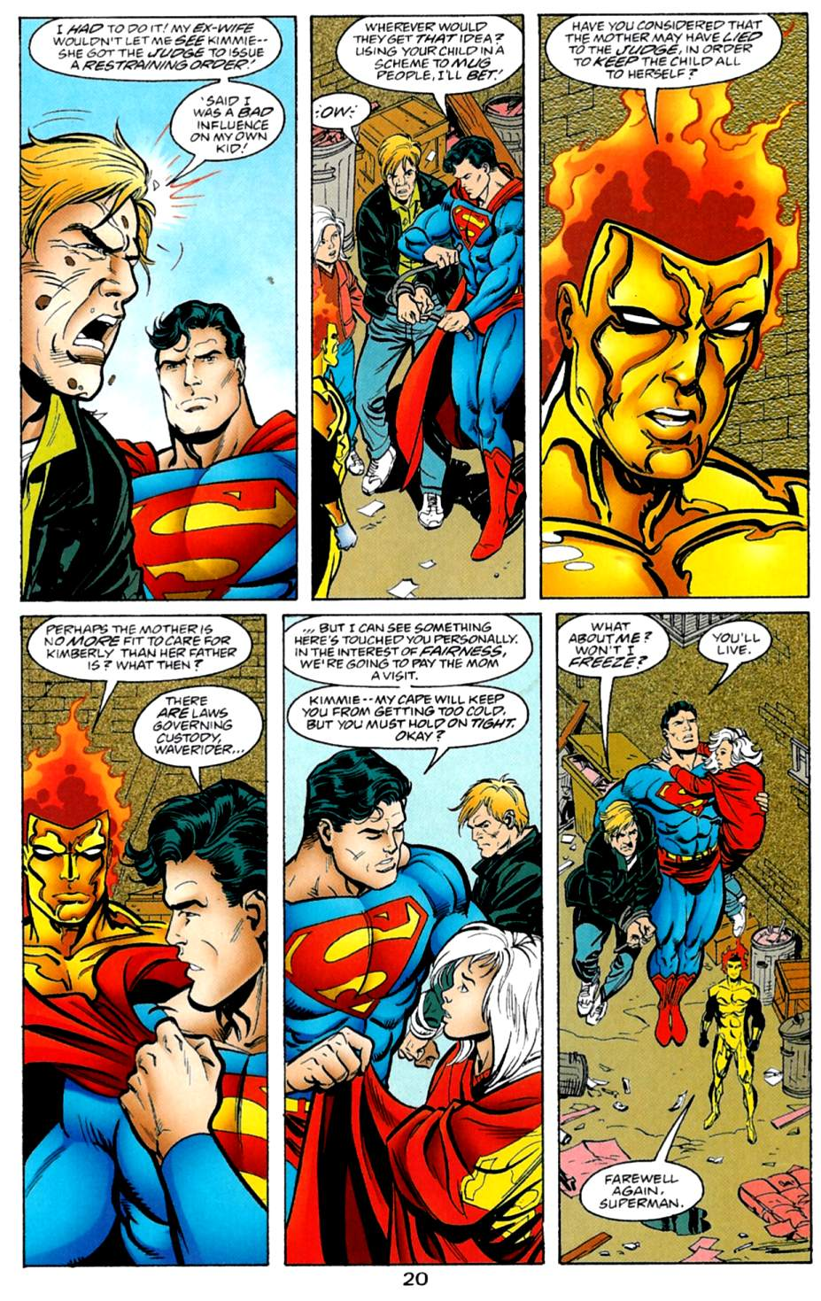 Read online Adventures of Superman (1987) comic -  Issue #561 - 21