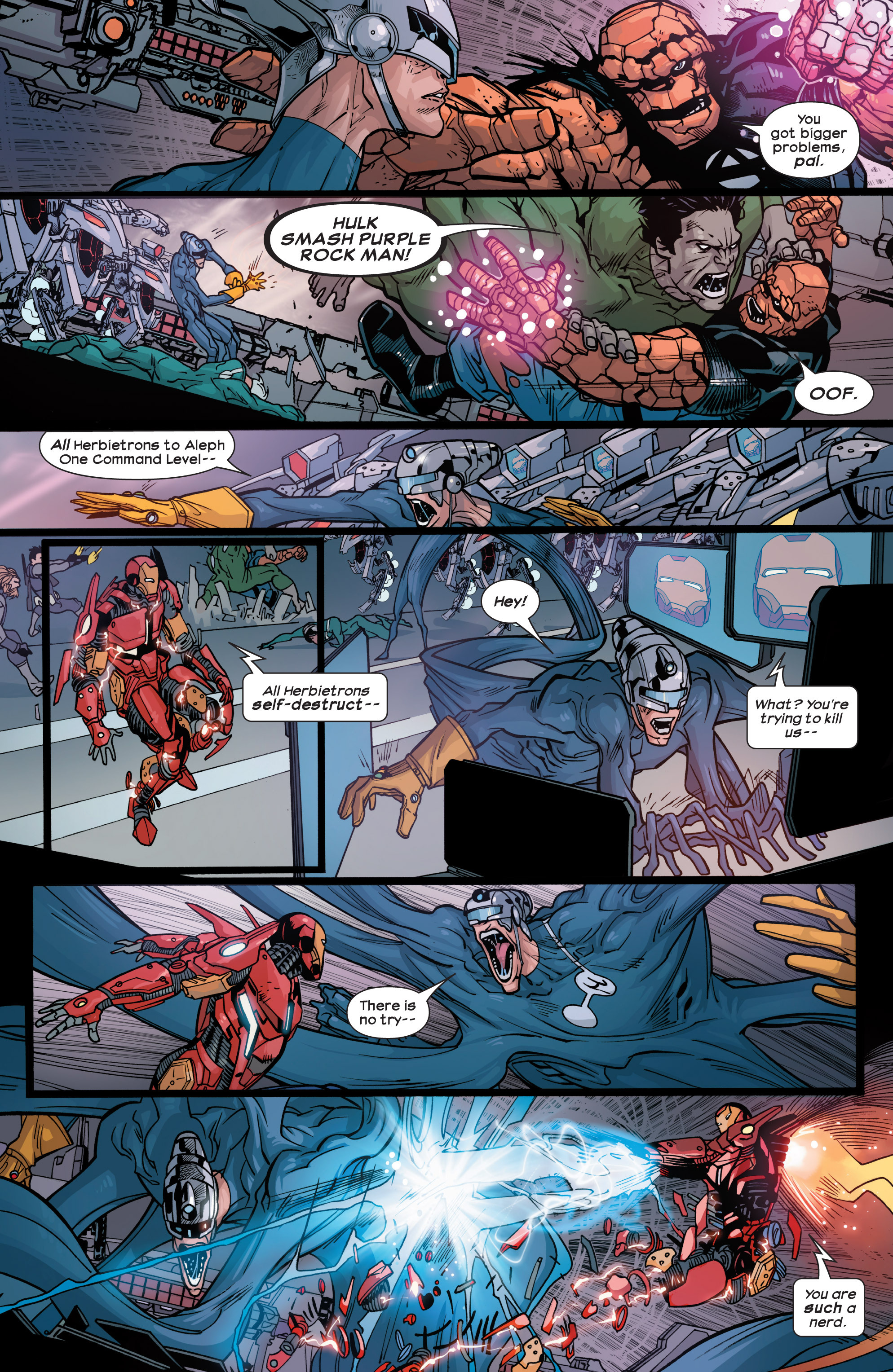 Read online Ultimate Comics Ultimates comic -  Issue #30 - 6