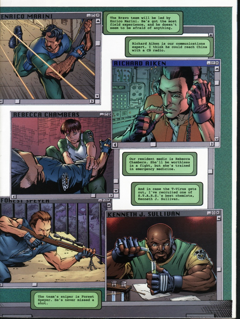 Resident Evil (1998) Issue #1 #1 - English 5