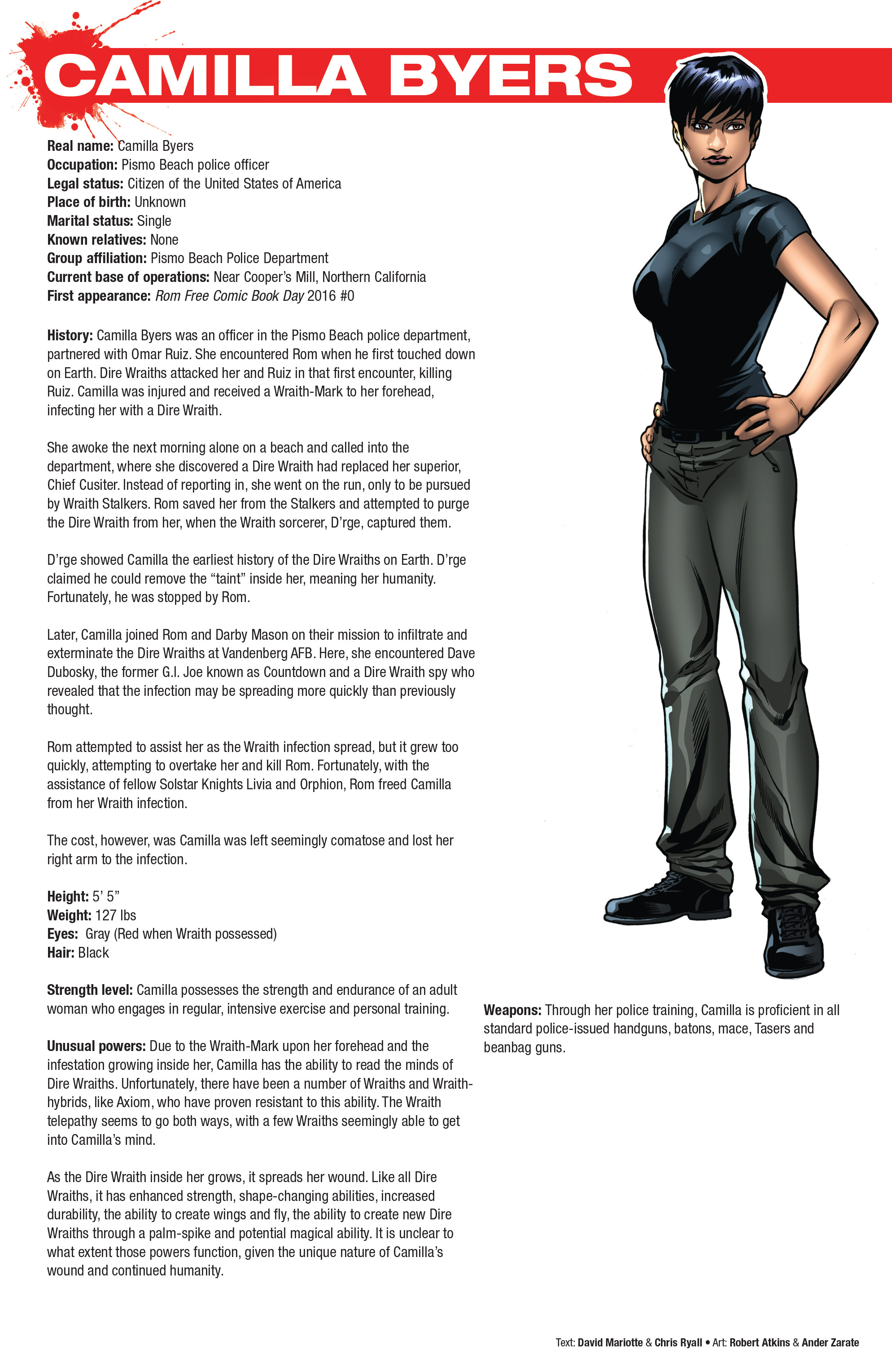 Read online Hasbro Heroes Sourcebook comic -  Issue #1 - 27