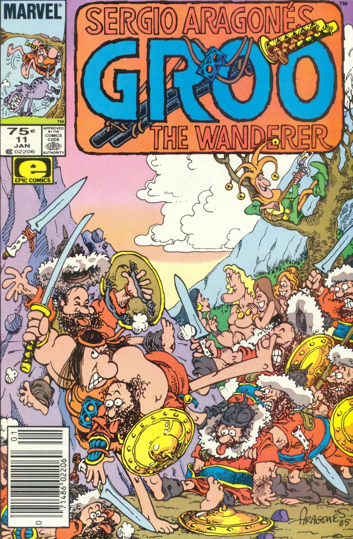 Read online Sergio Aragonés Groo the Wanderer comic -  Issue #11 - 1