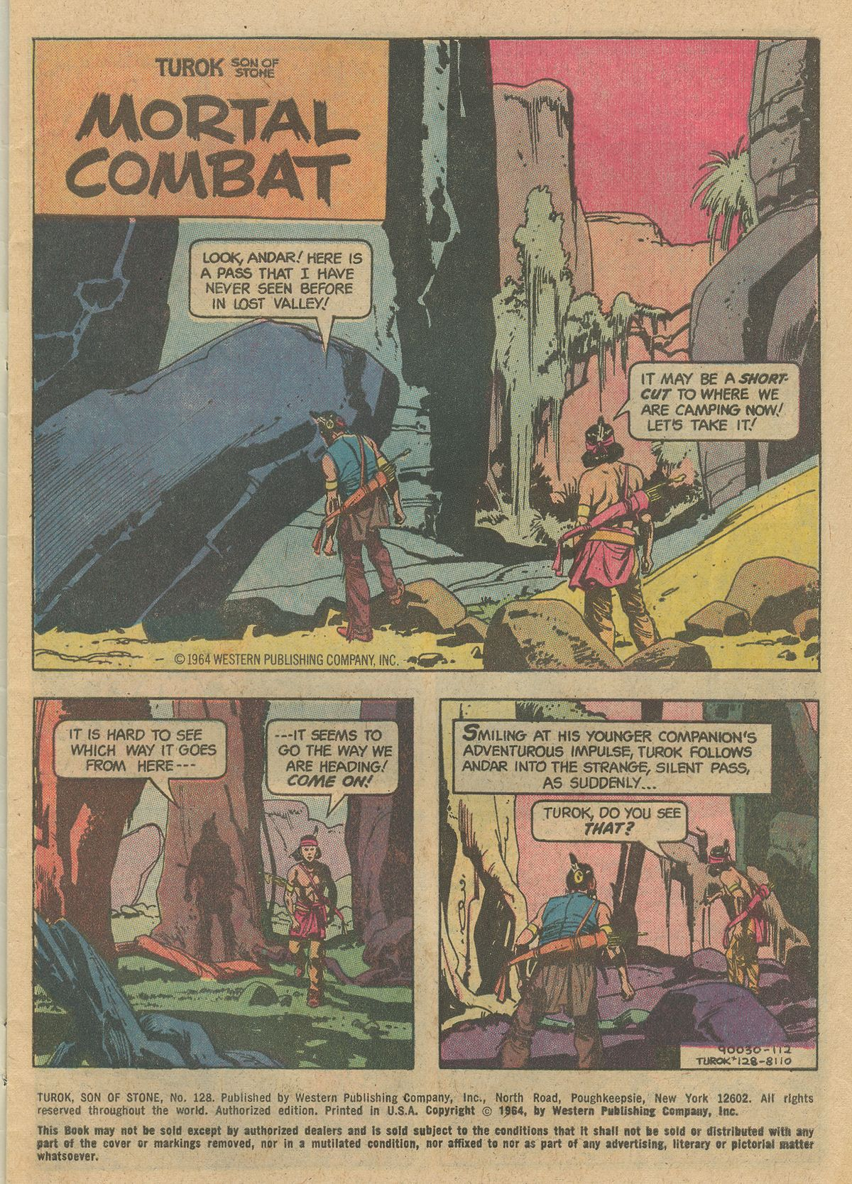 Read online Turok, Son of Stone comic -  Issue #128 - 3