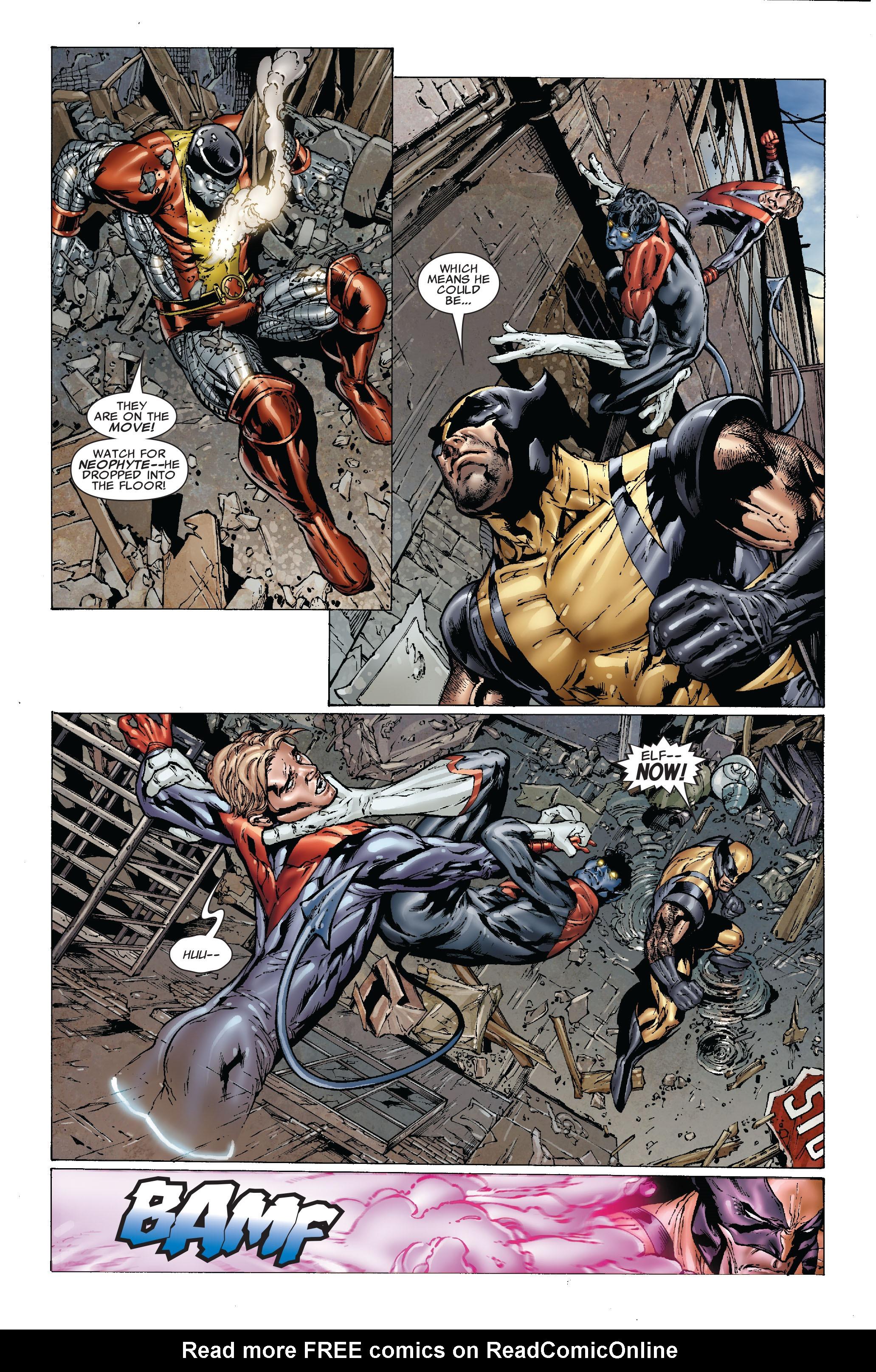 Read online Uncanny X-Men (1963) comic -  Issue #492 - 11