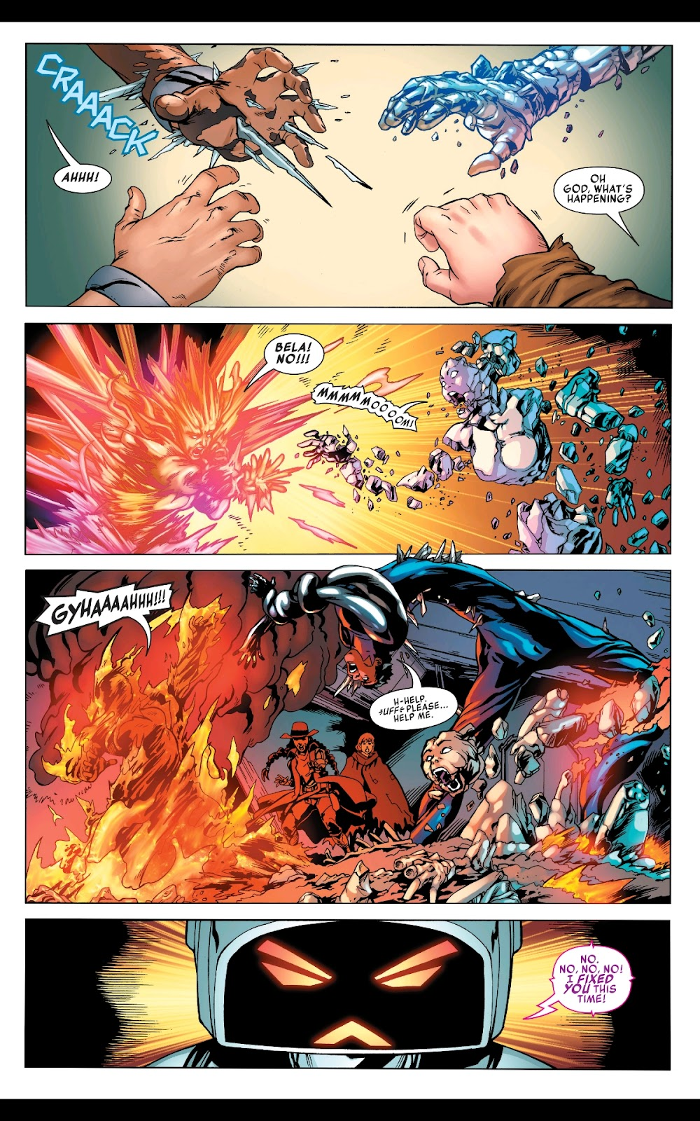 Read online Fantastic Four 2099 (2019) comic -  Issue # Full - 28