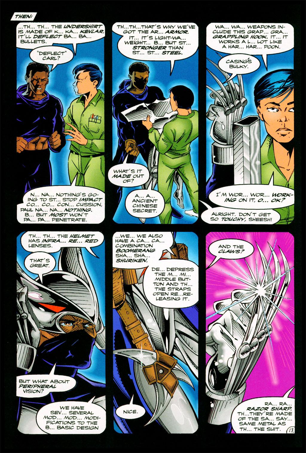 Read online ShadowHawk comic -  Issue #11 - 11