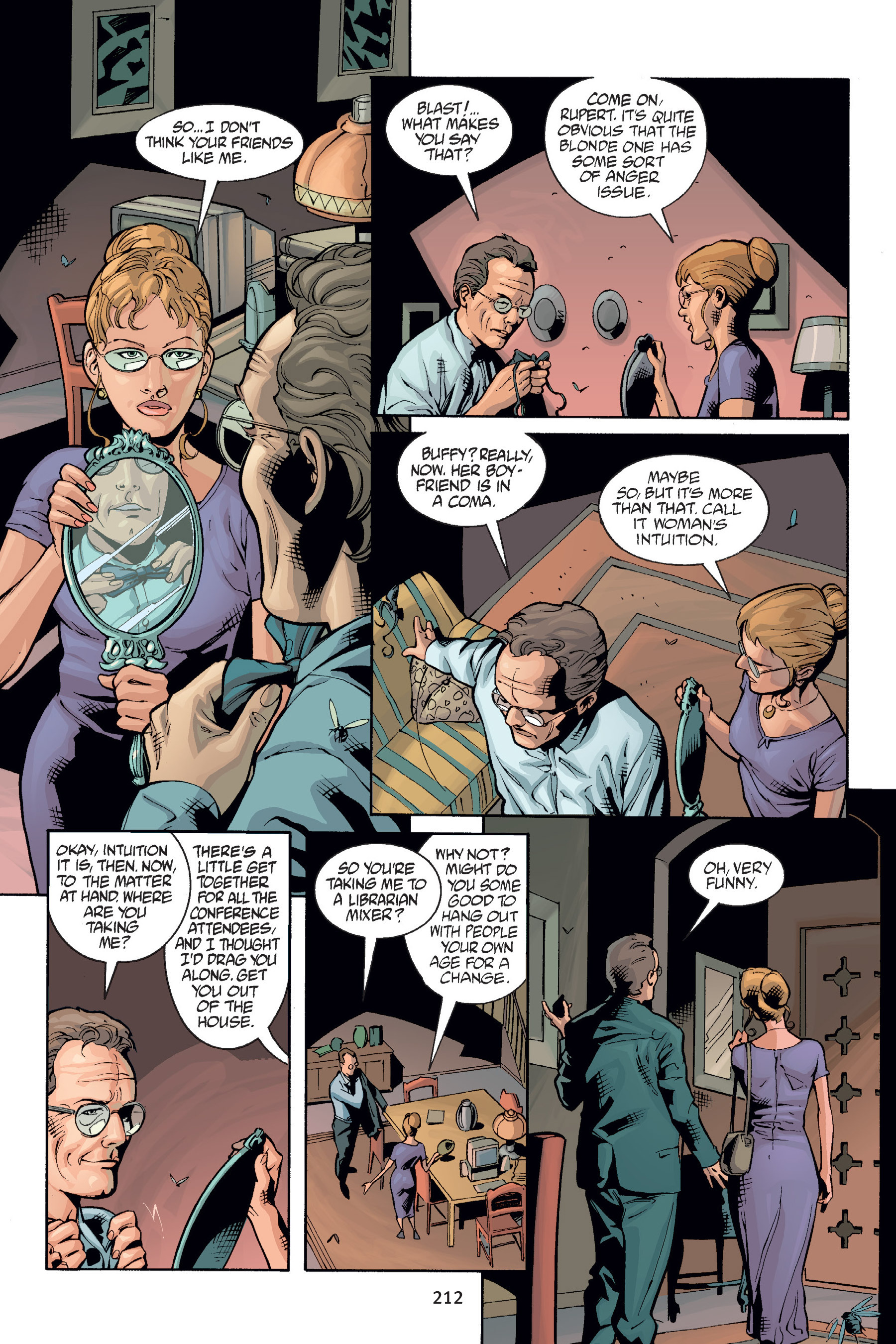 Read online Buffy the Vampire Slayer: Omnibus comic -  Issue # TPB 6 - 211