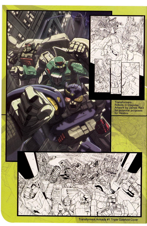 Read online Transformers Armada comic -  Issue #0 - 12