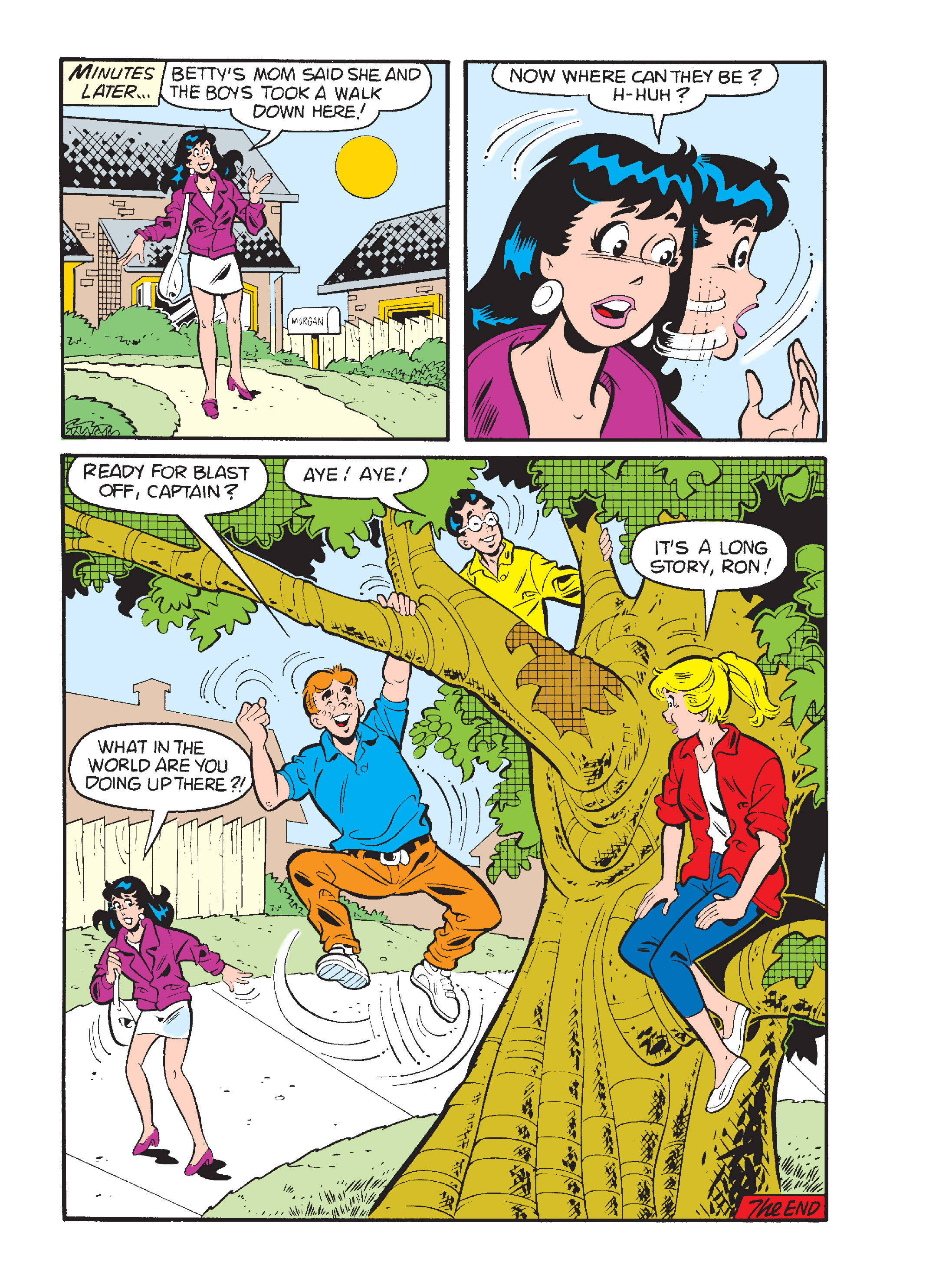 Read online Archie's Funhouse Double Digest comic -  Issue #15 - 239