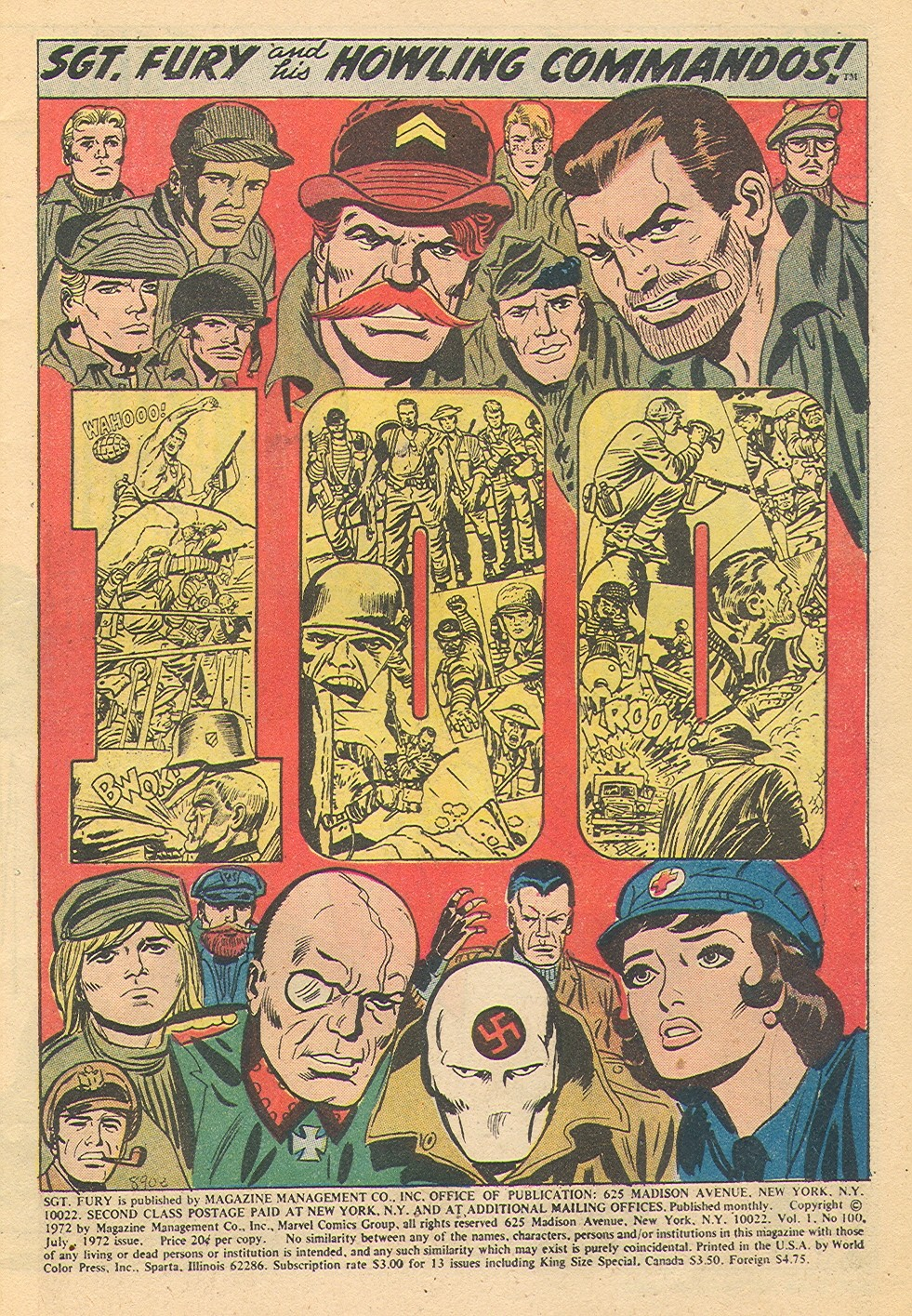 Read online Sgt. Fury comic -  Issue #100 - 3