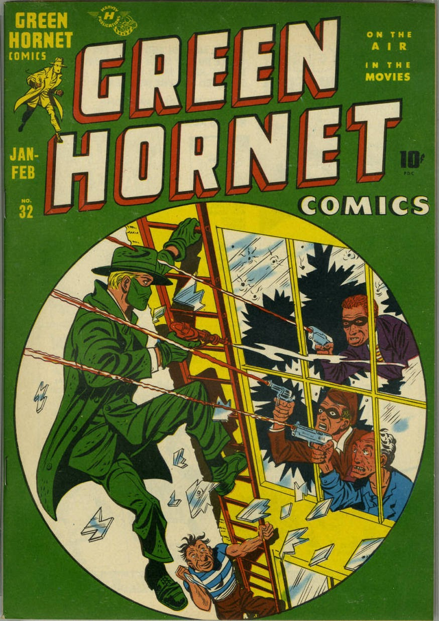 Green Hornet Comics issue 32 - Page 1