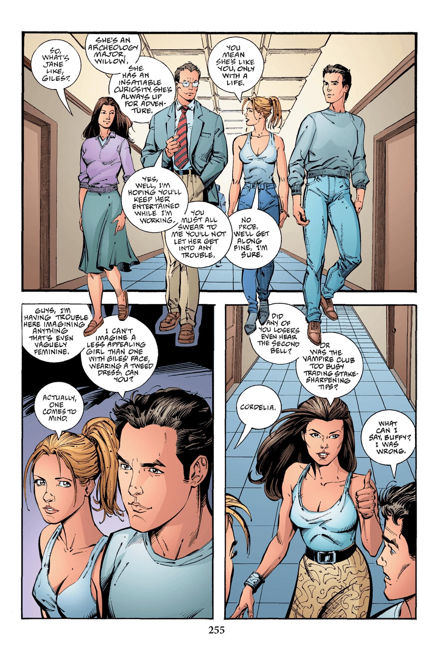 Read online Buffy the Vampire Slayer: Omnibus comic -  Issue # TPB 2 - 247