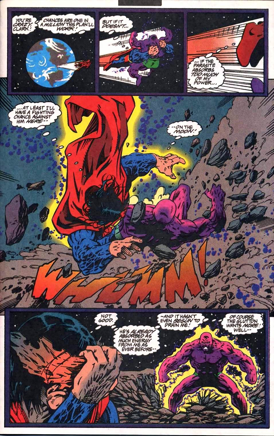 Read online Adventures of Superman (1987) comic -  Issue #512 - 15