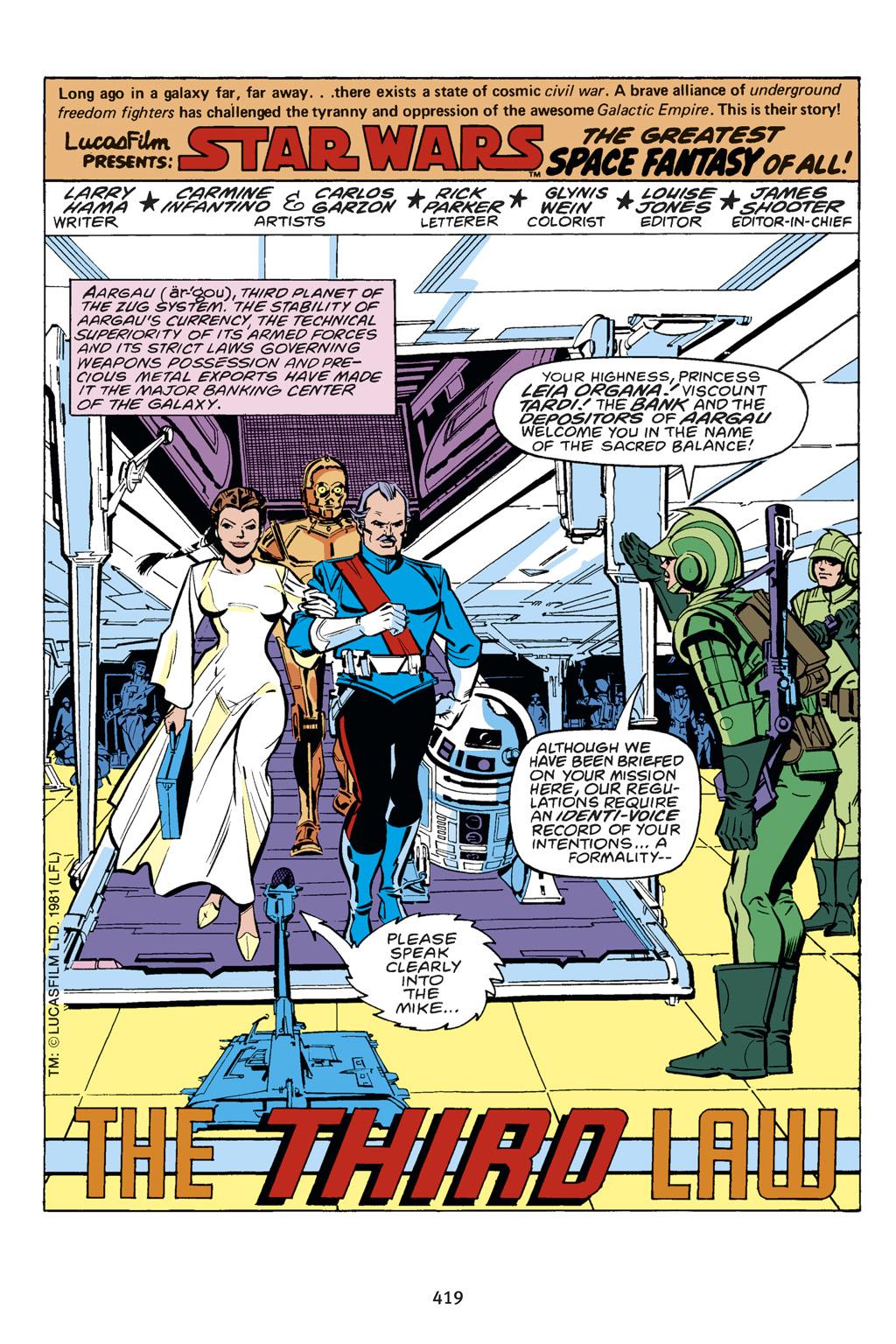 Read online Star Wars Omnibus comic -  Issue # Vol. 14 - 413