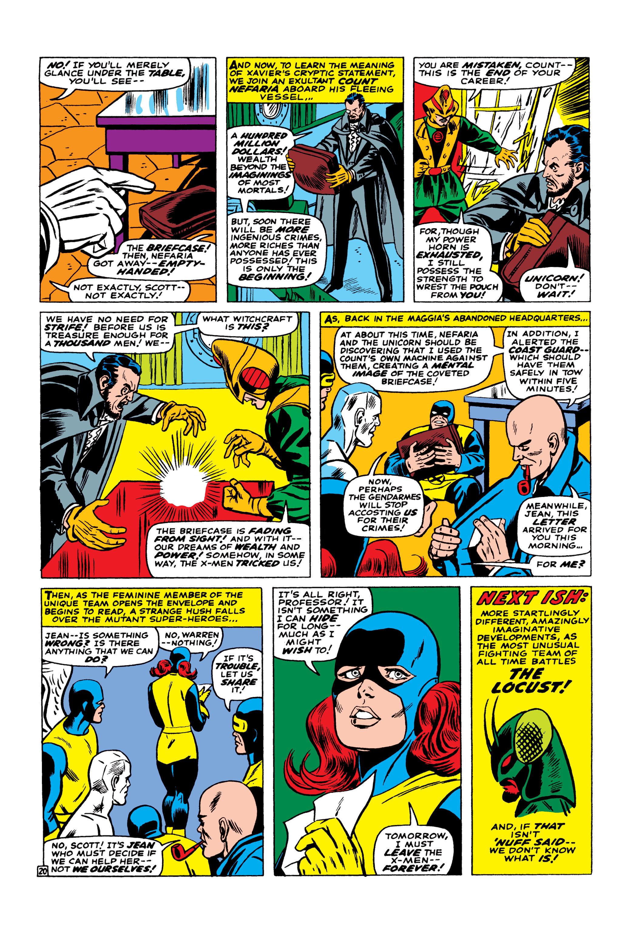 Read online Uncanny X-Men (1963) comic -  Issue #23 - 21