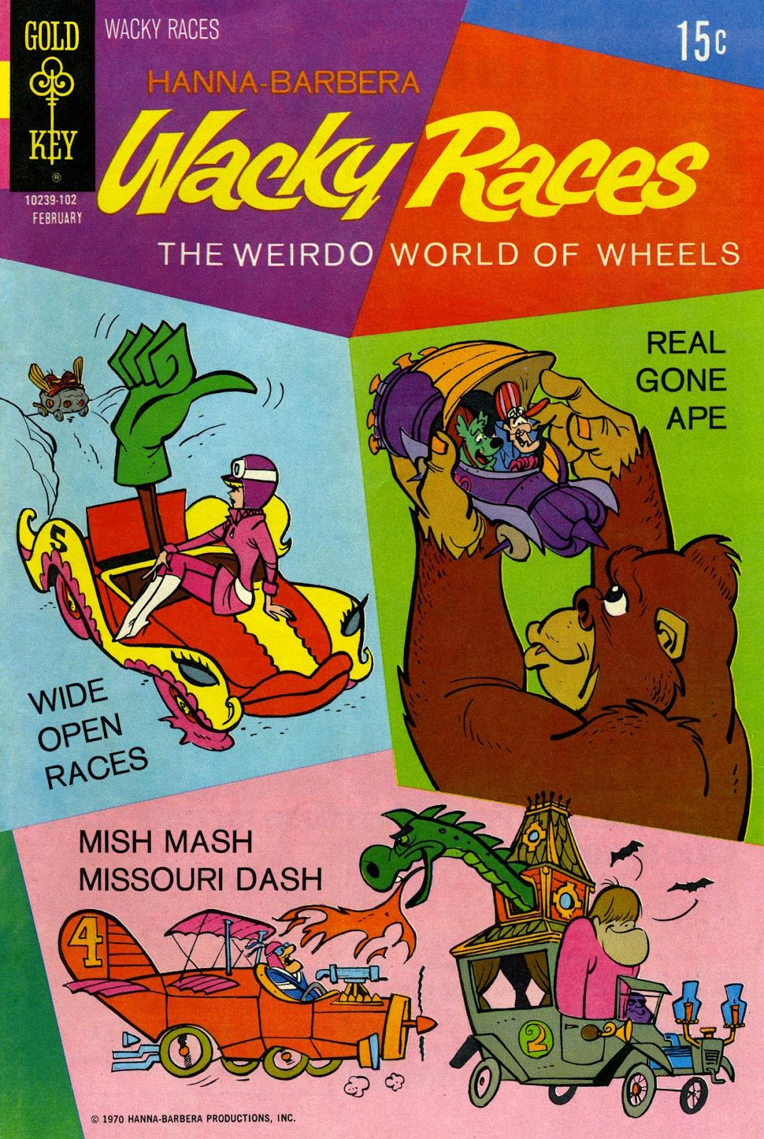 Hanna-Barbera Wacky Races issue 2 - Page 1