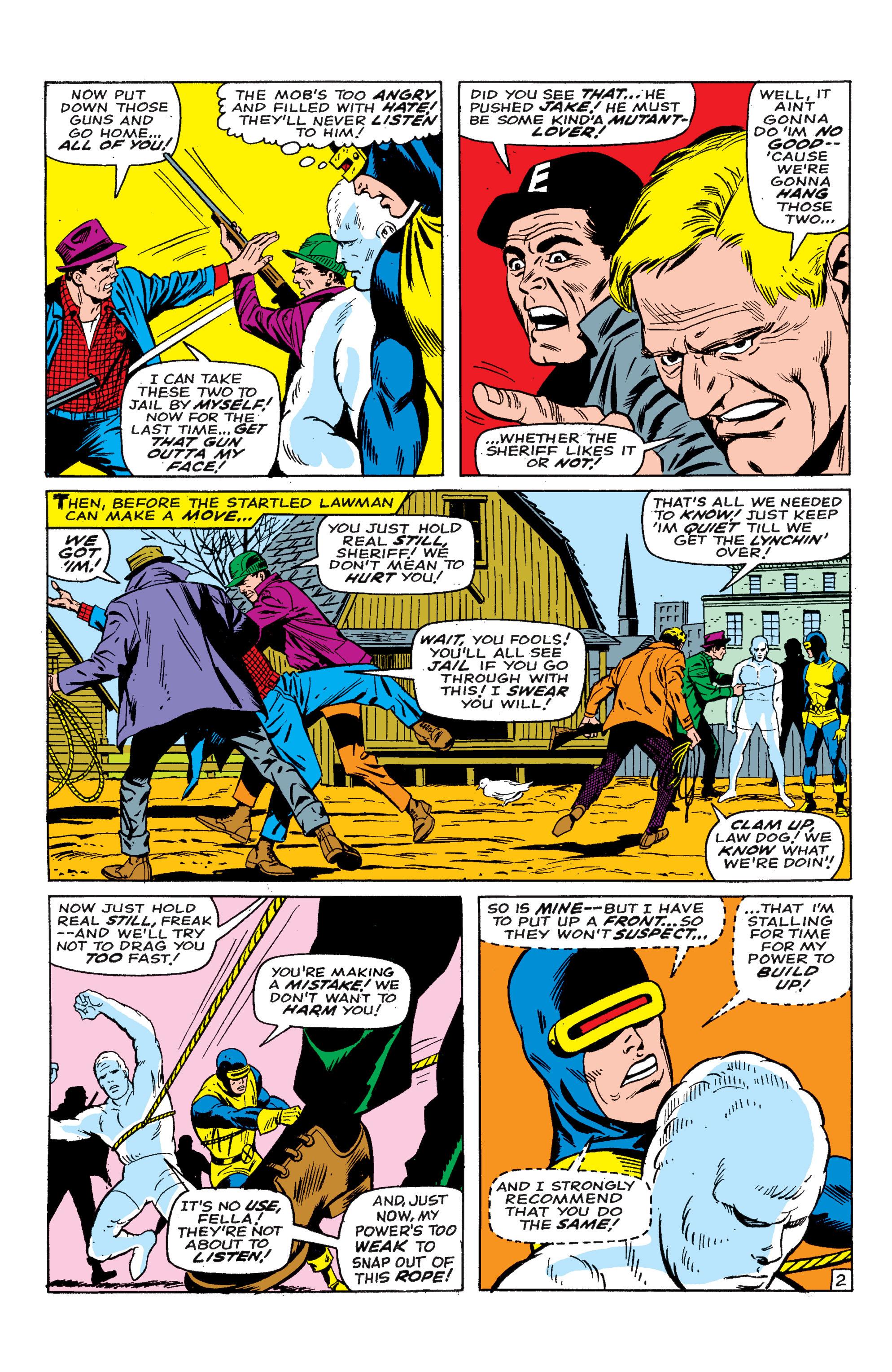 Read online Uncanny X-Men (1963) comic -  Issue #46 - 18