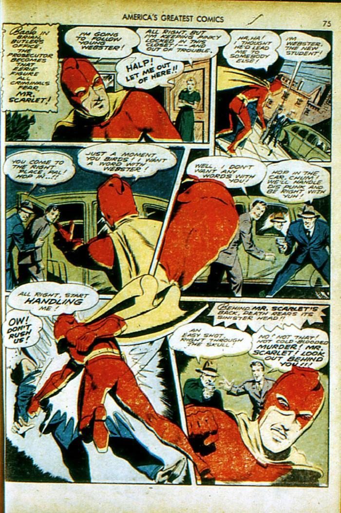 Read online America's Greatest Comics comic -  Issue #4 - 76