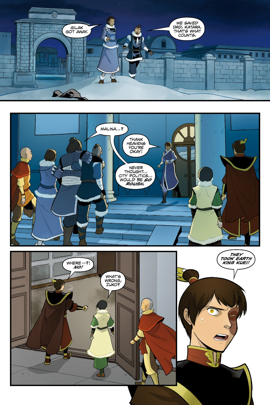 Nickelodeon Avatar: The Last Airbender - North and South issue 3 - Page 39