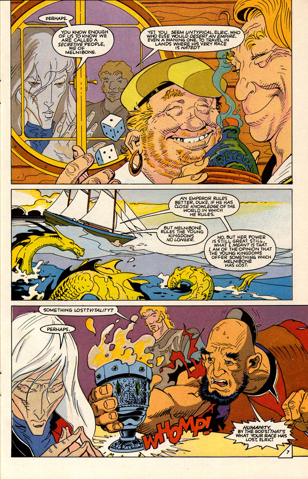 Read online Elric: Sailor on the Seas of Fate comic -  Issue #6 - 9