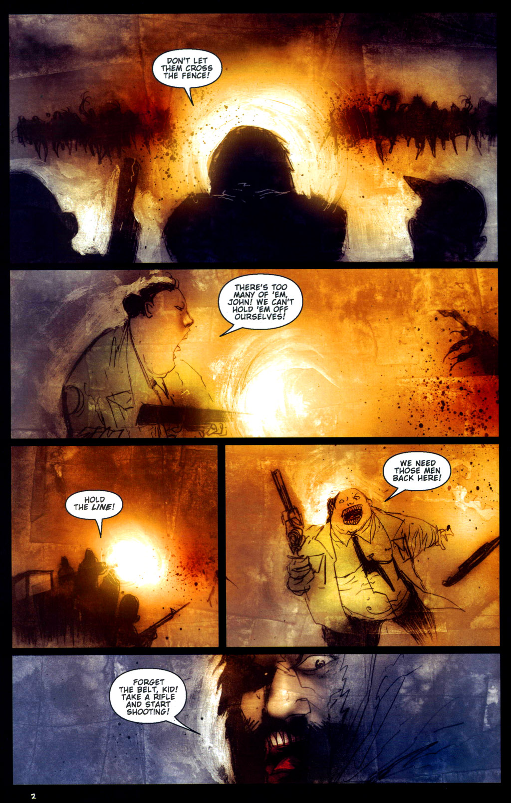 Read online 30 Days of Night: Return to Barrow comic -  Issue #6 - 4