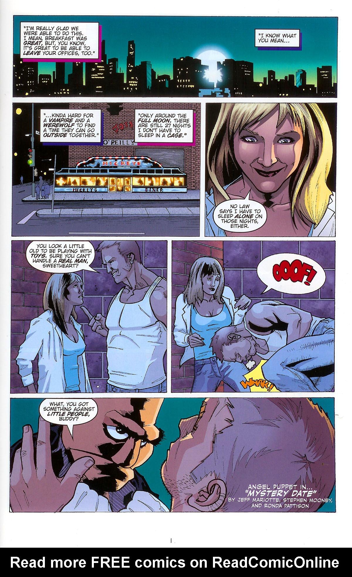 Read online Angel: Masks comic -  Issue # Full - 3