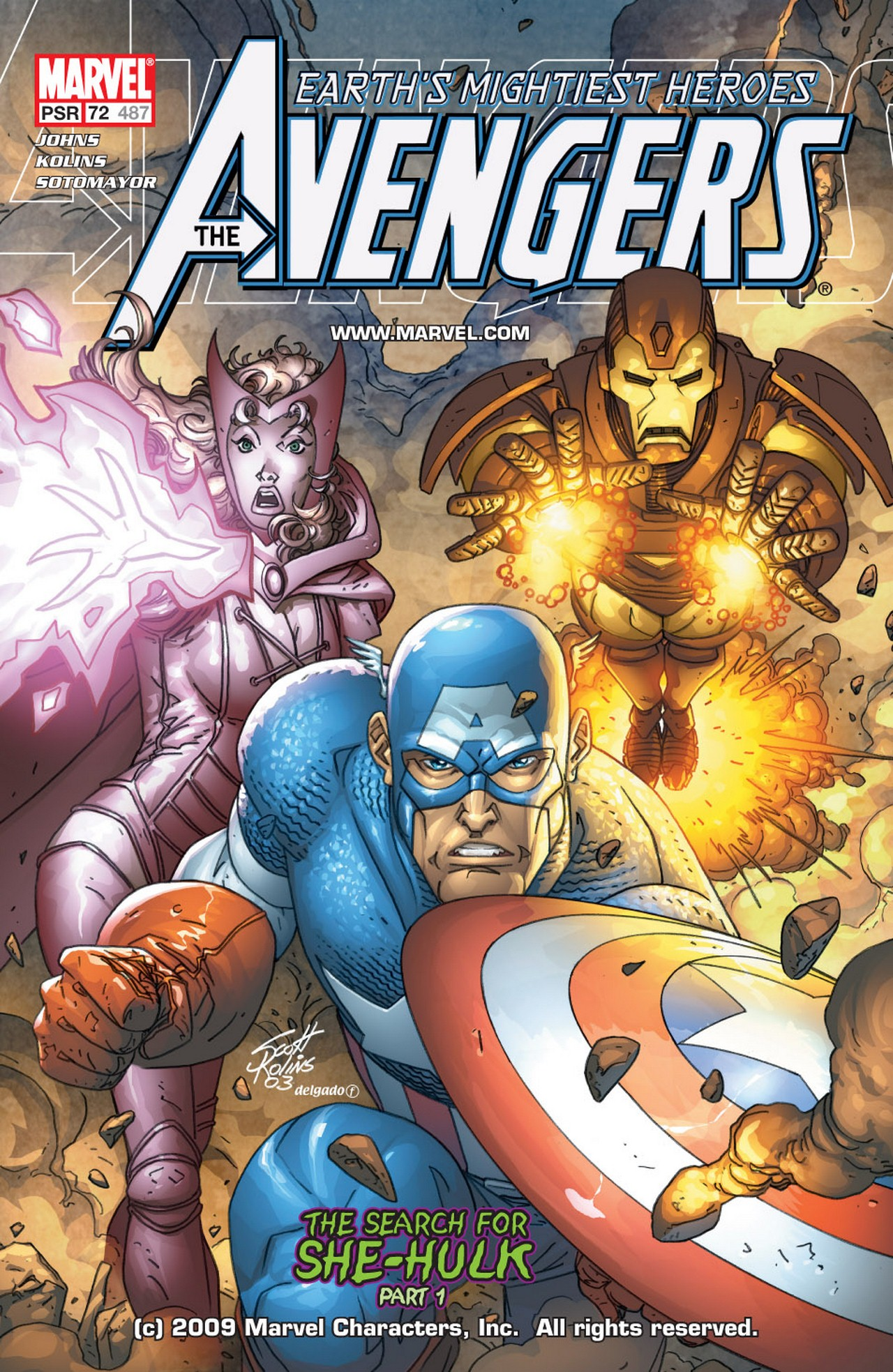 Read online Avengers (1998) comic -  Issue #72 - 1