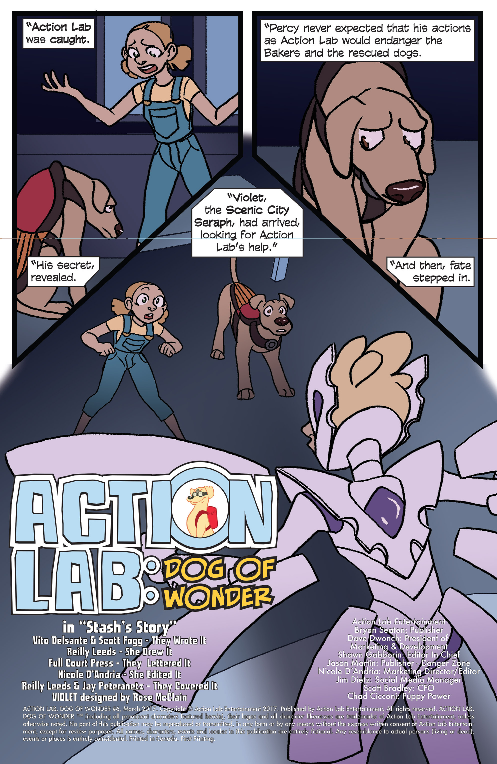 Read online Action Lab, Dog of Wonder comic -  Issue #6 - 3