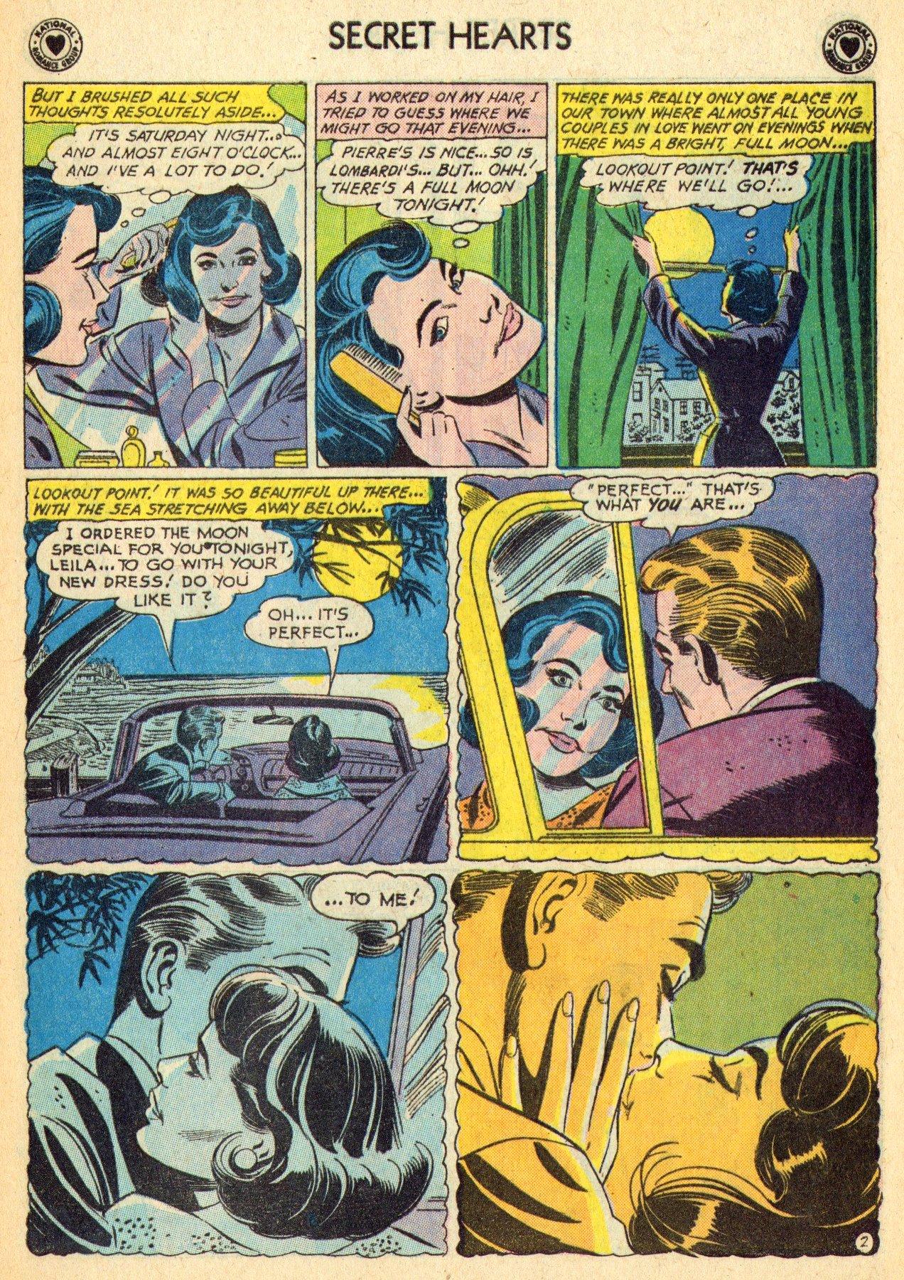 Read online Secret Hearts comic -  Issue #70 - 21