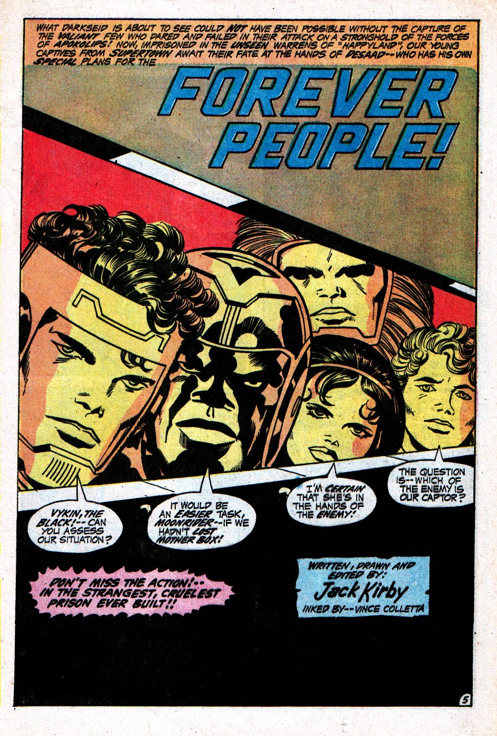 Forever People (1971) issue 4 - Page 6