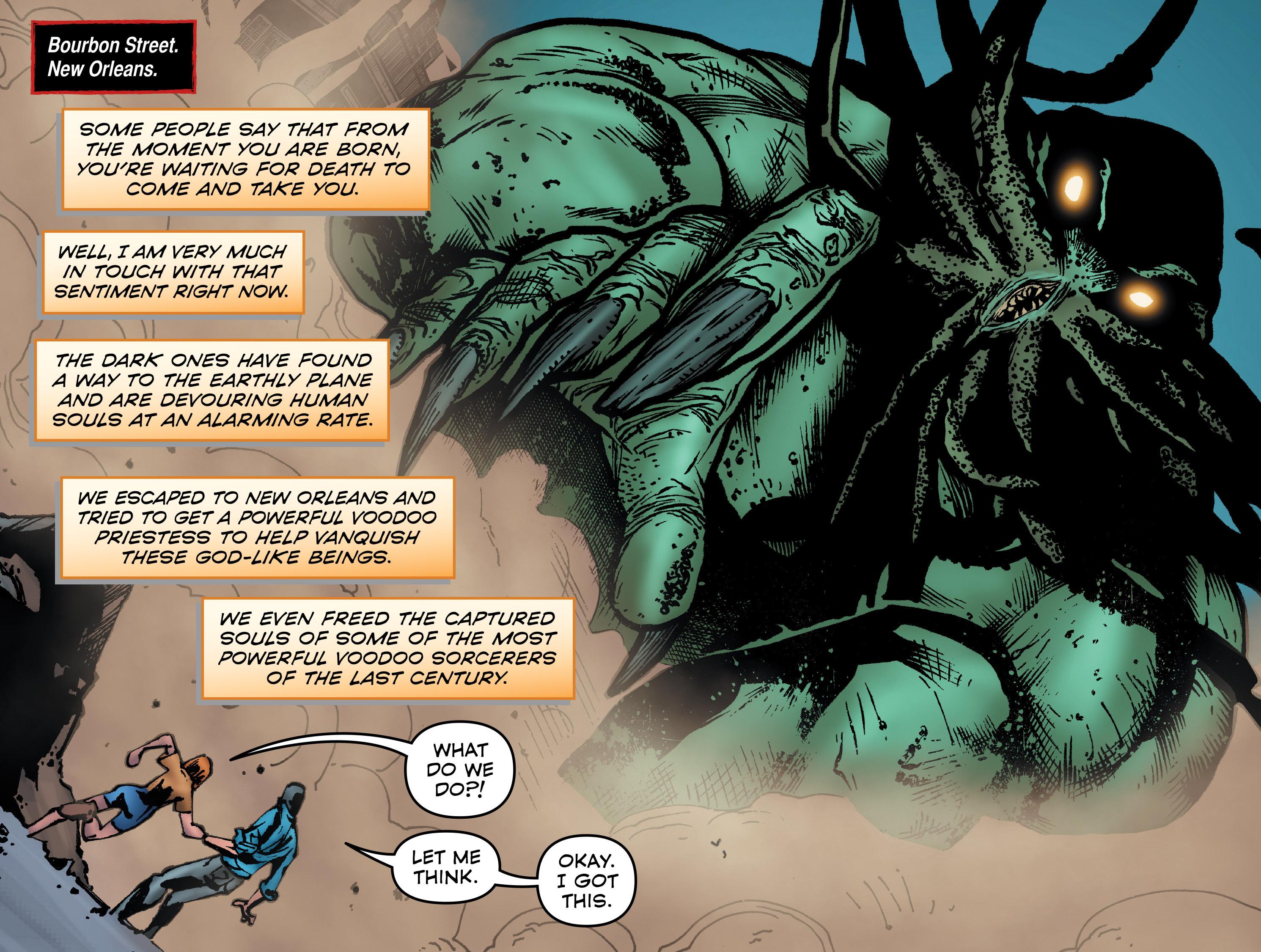 Read online Evil Dead 2: Dark Ones Rising comic -  Issue #5 - 4