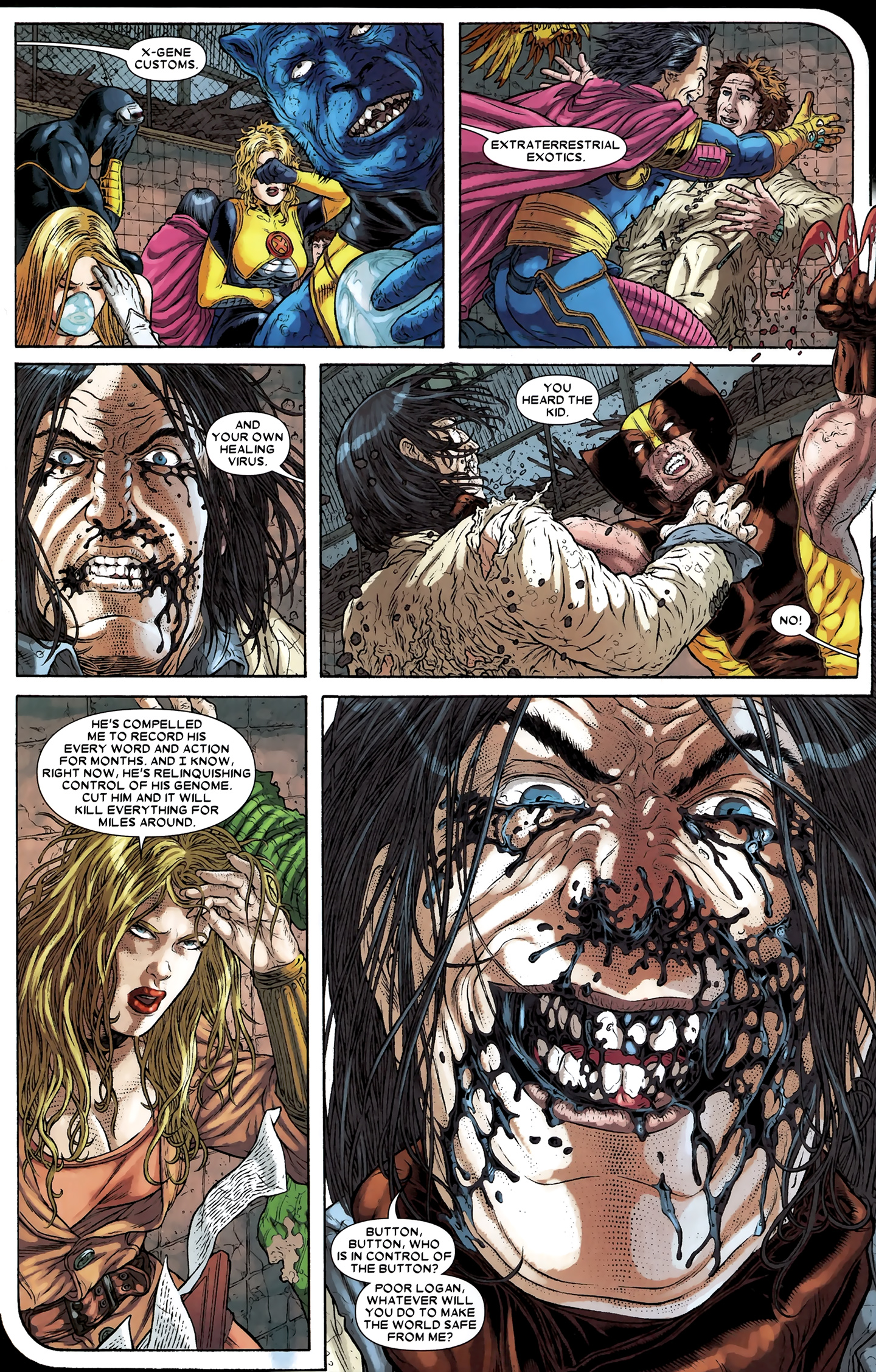 Read online Wolverine: The Best There Is comic -  Issue #12 - 18
