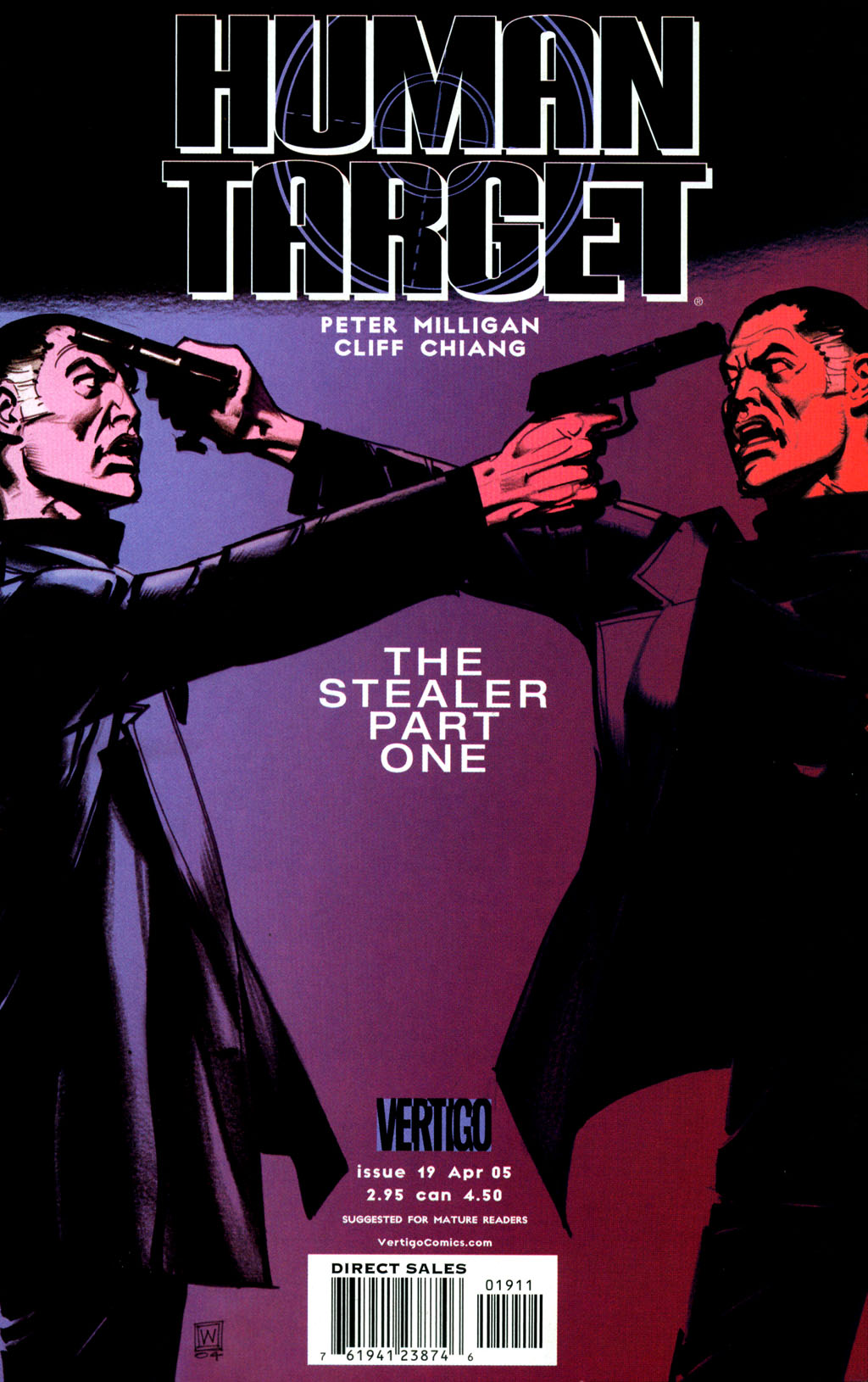 Human Target (2003) issue 19 - Page 1