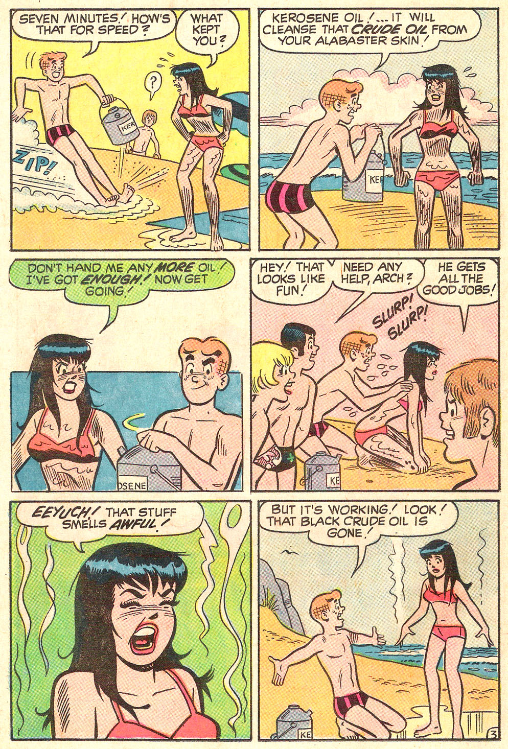 Read online Archie's Girls Betty and Veronica comic -  Issue #178 - 21