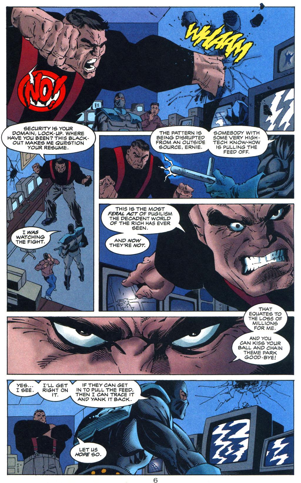 Read online Batman/Wildcat comic -  Issue #3 - 6