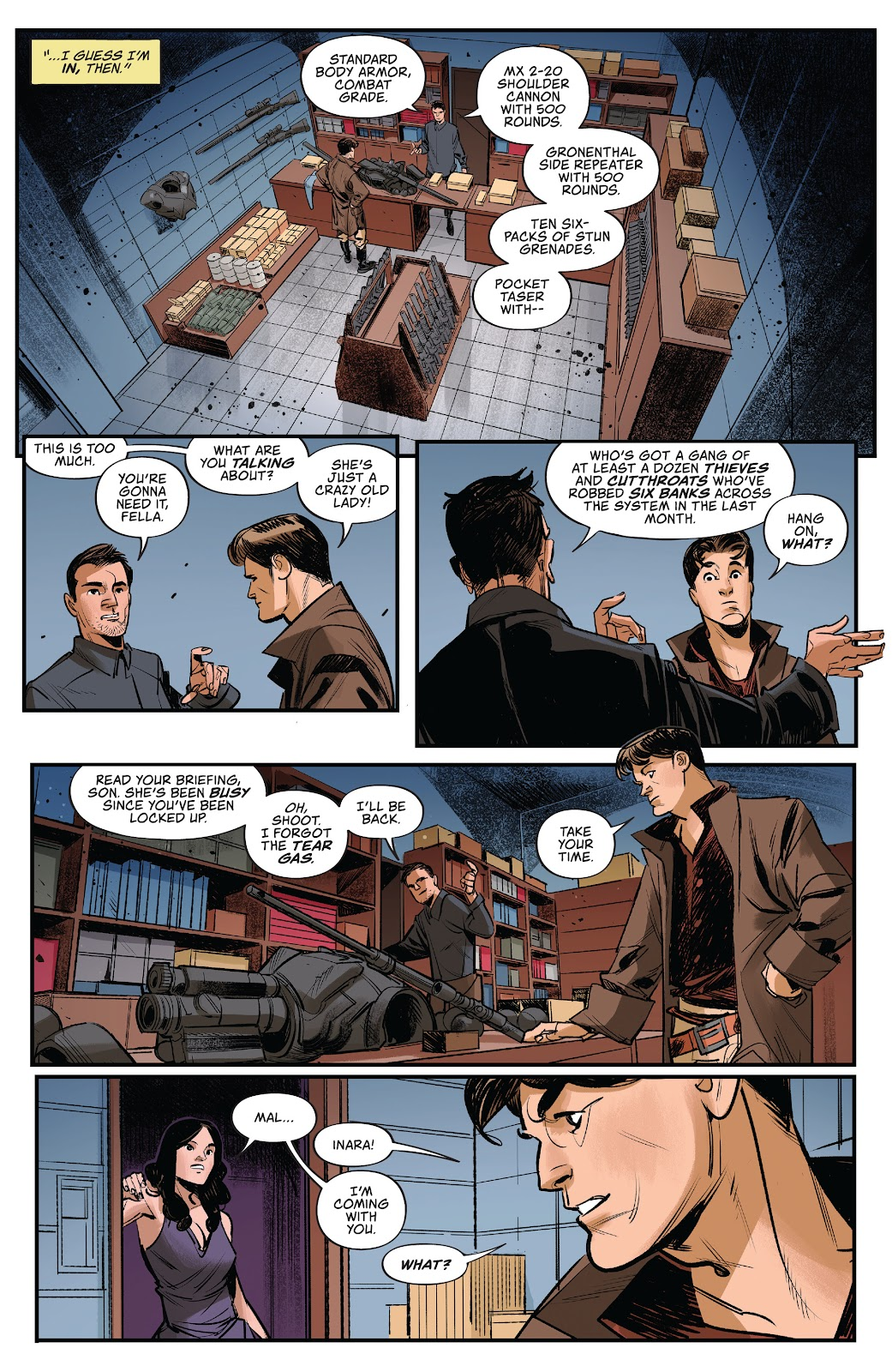 Read online Firefly: The Outlaw Ma Reynolds comic -  Issue # Full - 7