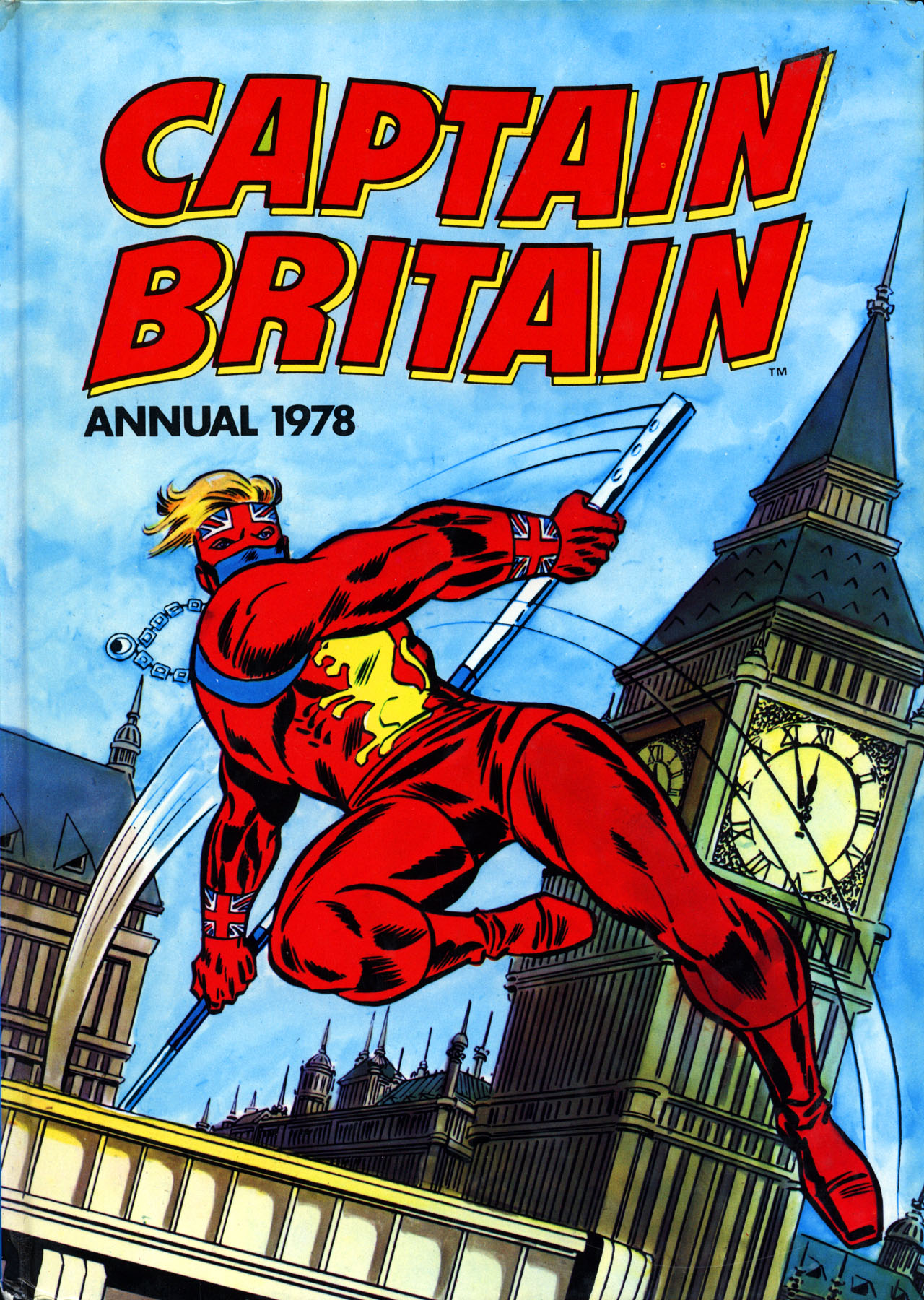 Captain Britain (1976) _Annual Page 1