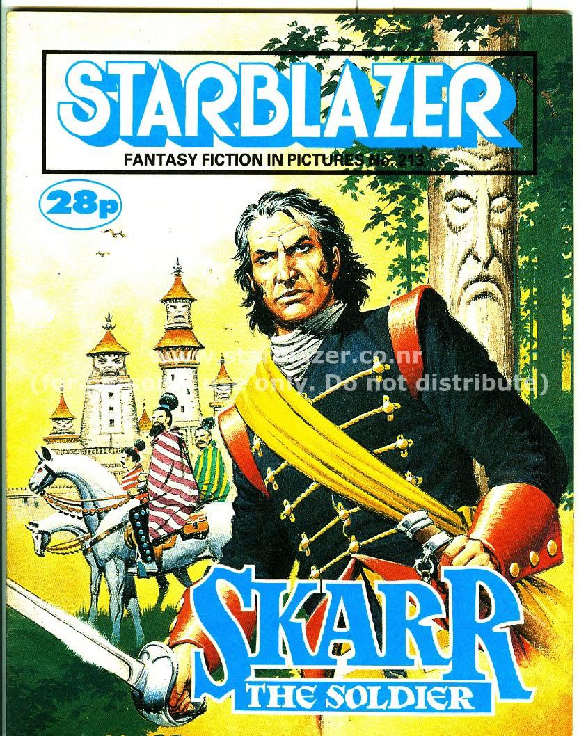 Starblazer issue 213 - Page 1