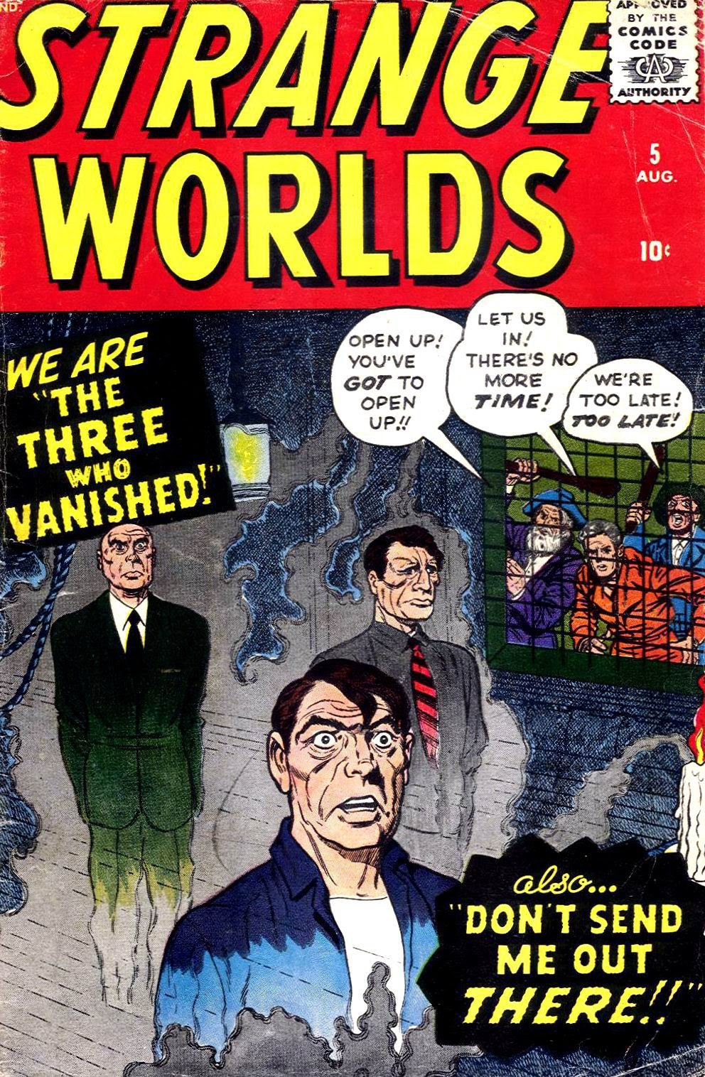 Strange Worlds issue 5 - Page 1