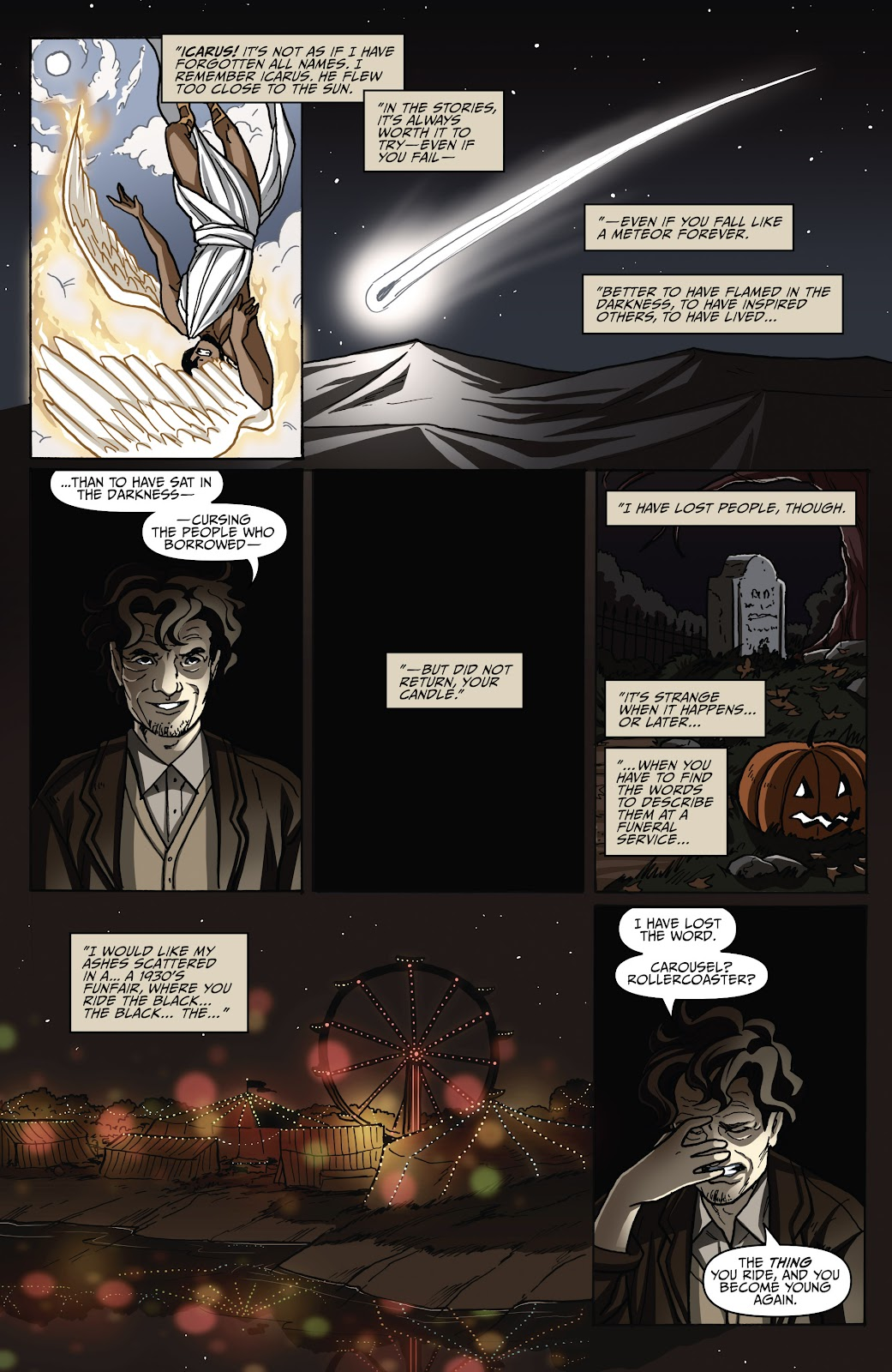 Read online Shadow Show: Stories in Celebration of Ray Bradbury comic -  Issue #2 - 13