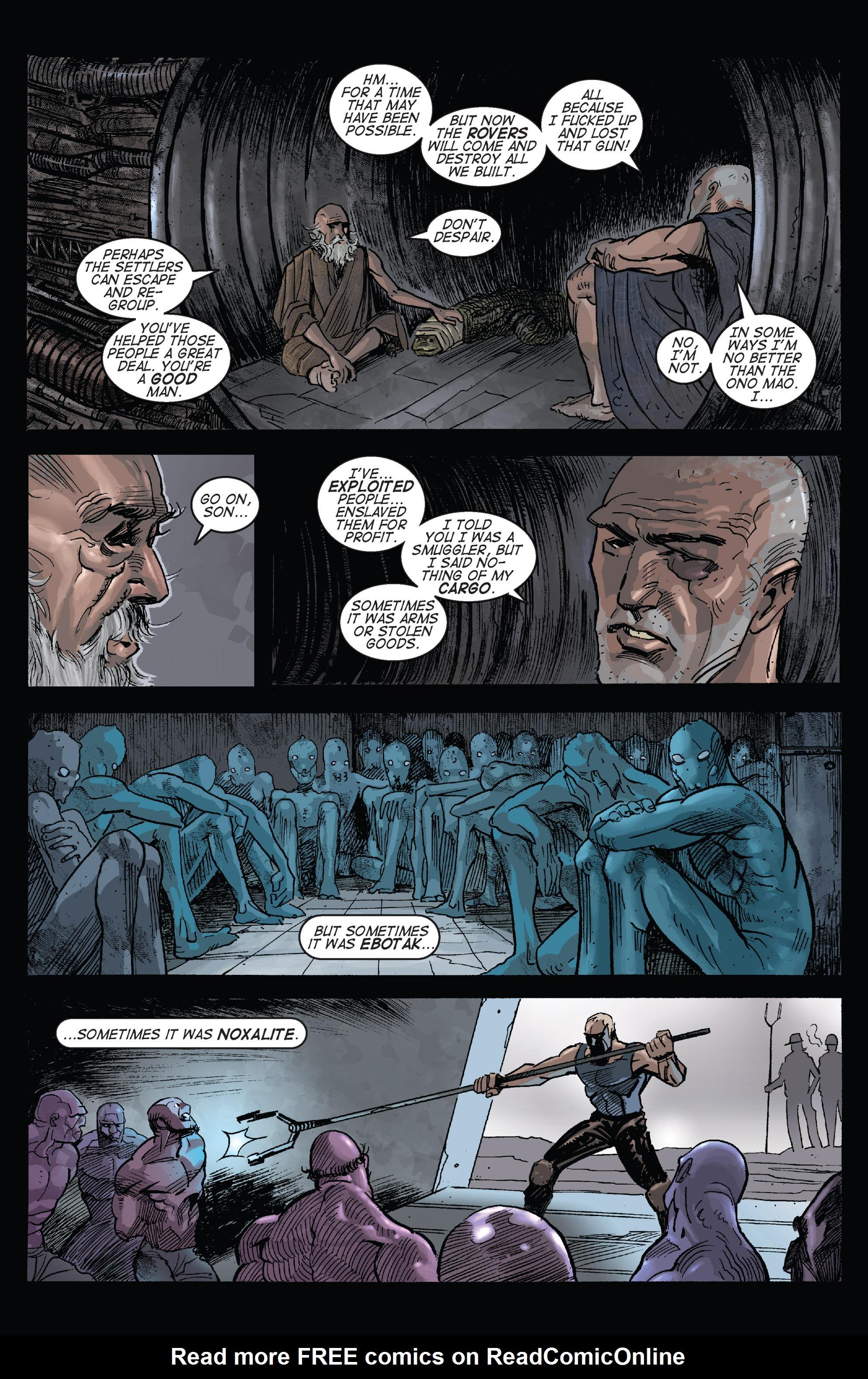 Read online Planetoid comic -  Issue # TPB - 129