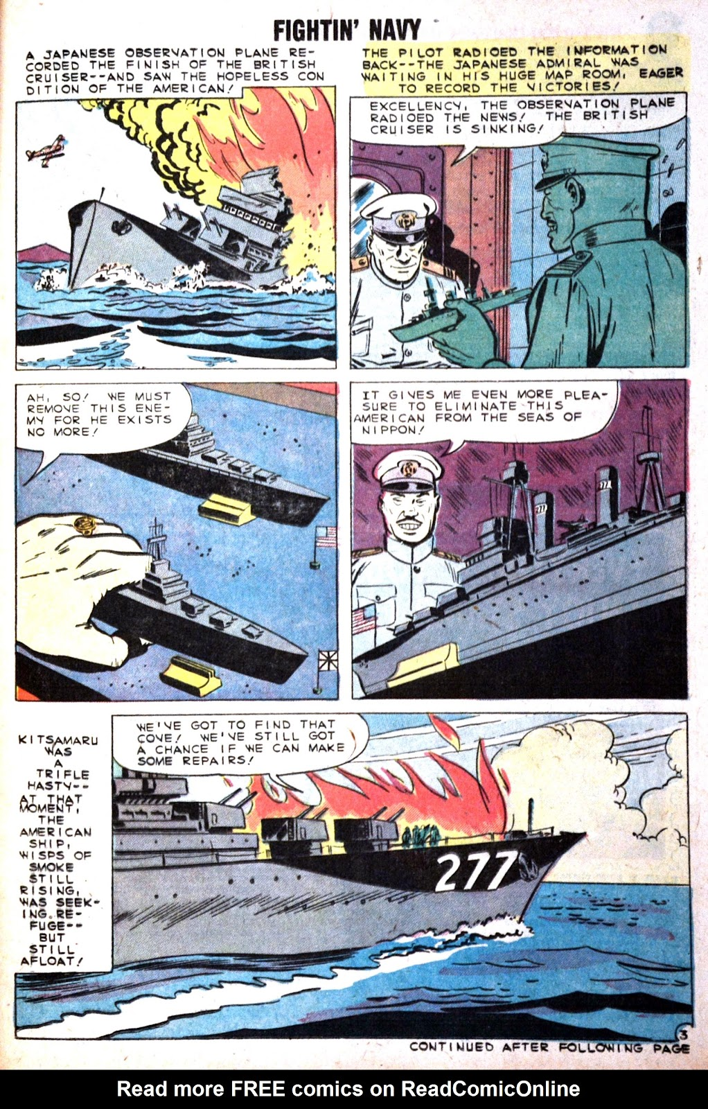 Read online Fightin' Navy comic -  Issue #89 - 21