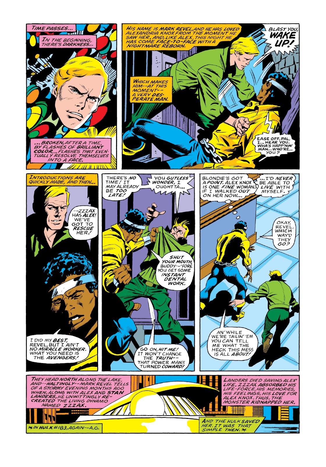 Read online Marvel Masterworks: Luke Cage, Power Man comic -  Issue # TPB 3 (Part 3) - 112