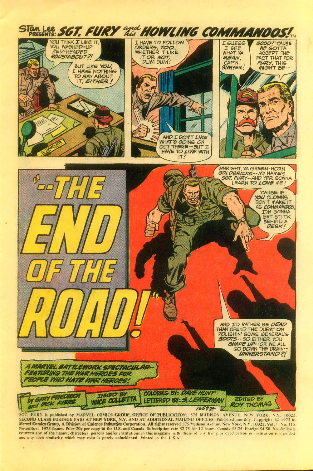 Read online Sgt. Fury comic -  Issue #116 - 3