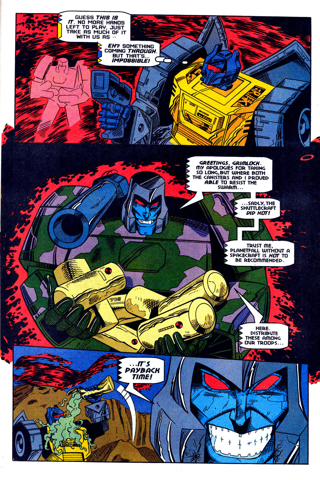Read online Transformers: Generation 2 comic -  Issue #12 - 29