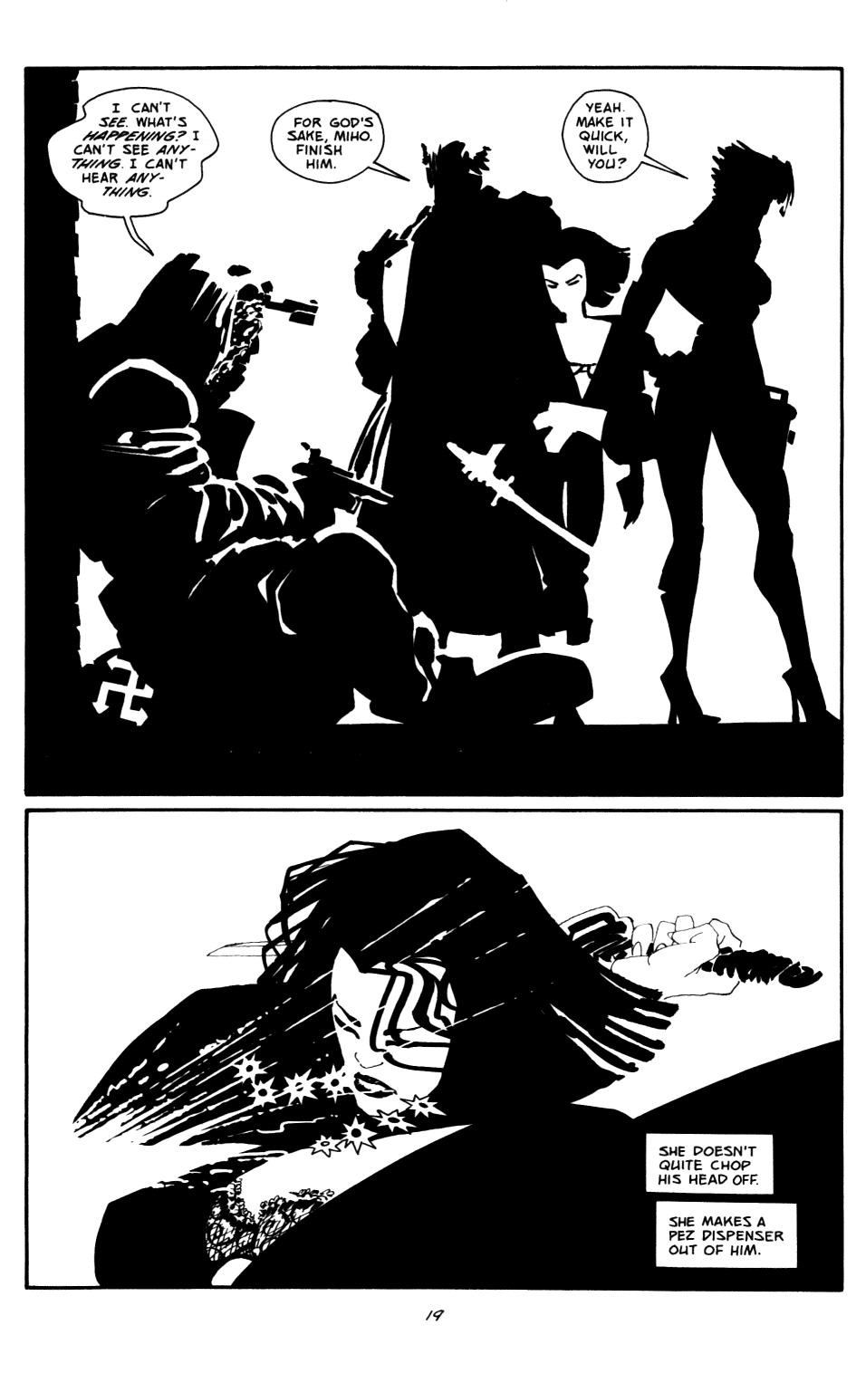 Read online Sin City: The Big Fat Kill comic -  Issue #2 - 20