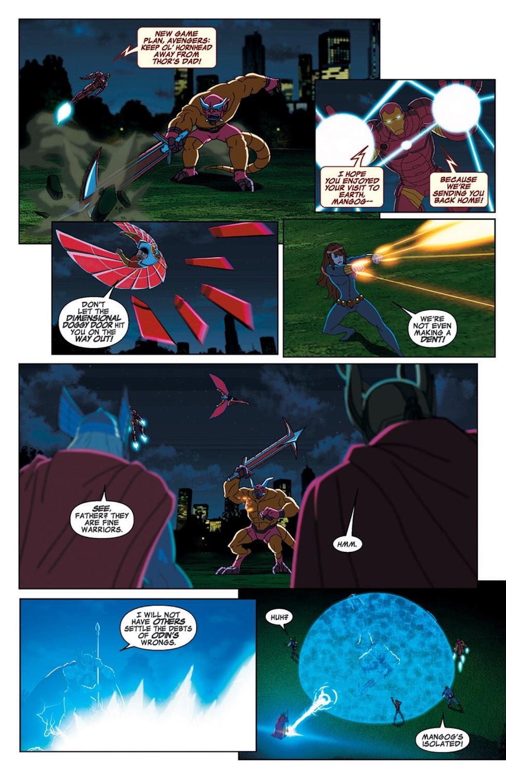 Read online Marvel Universe Avengers Assemble Season 2 comic -  Issue #7 - 19