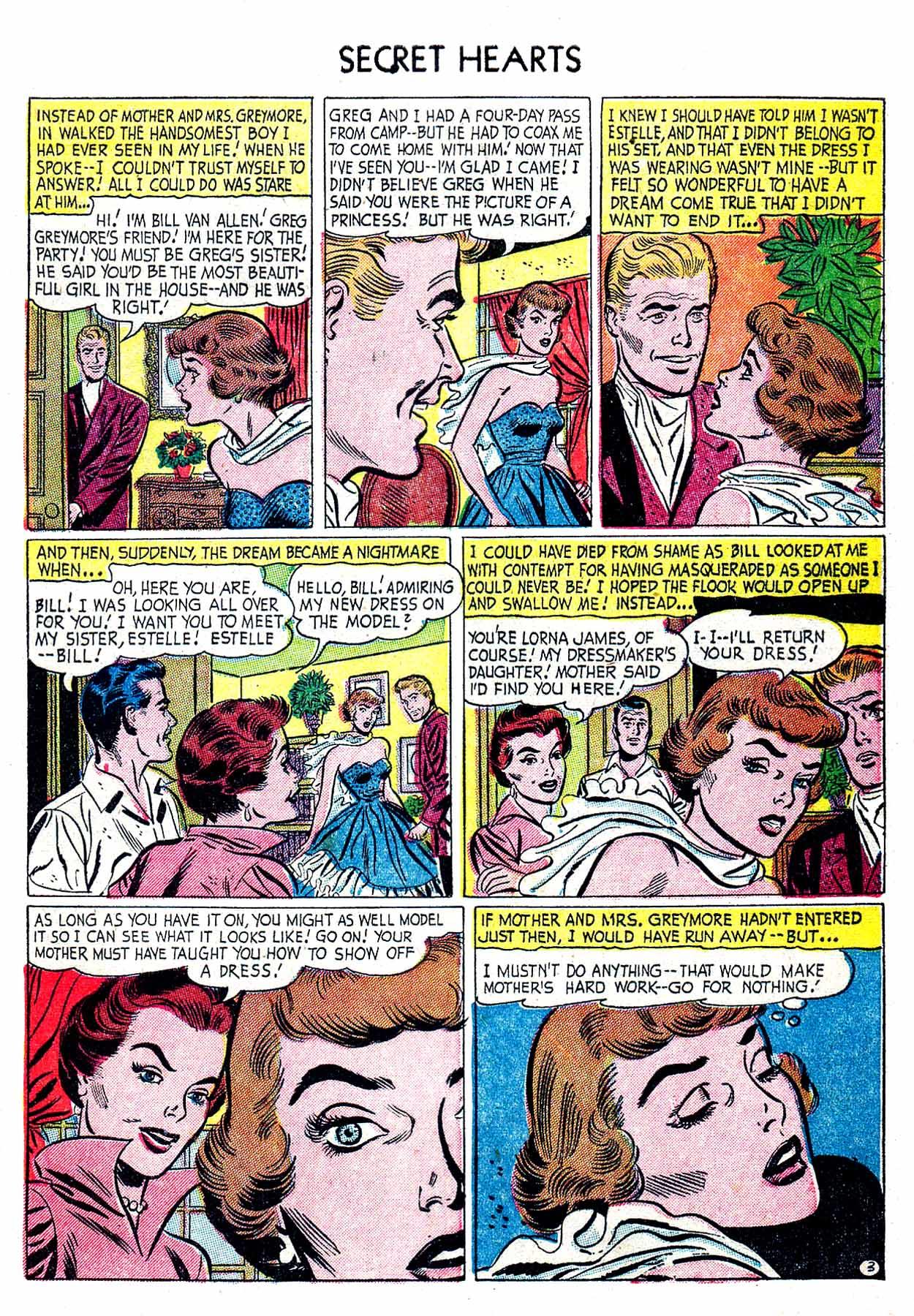 Read online Secret Hearts comic -  Issue #19 - 29